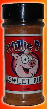 Willie B's Award Winning BBQ Rub 3 Pack